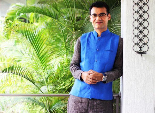 Shree Rivesh Vade, founder of Wellness Vibe Center of Sound Healing, Mumbai